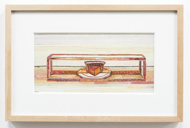 , 'Last Piece of Pie (after Thiebaud),' 2013, Rosamund Felsen Gallery
