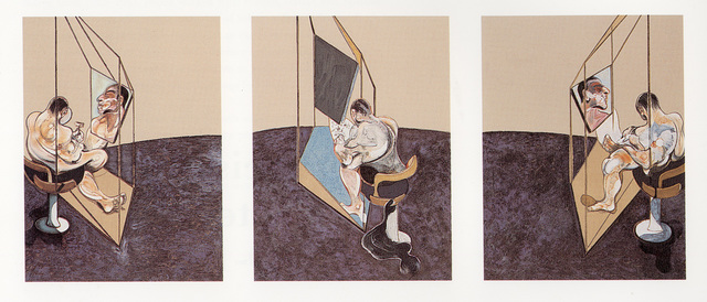 , 'Three Studies of the Male Back 1970,' 1987, Marlborough Gallery