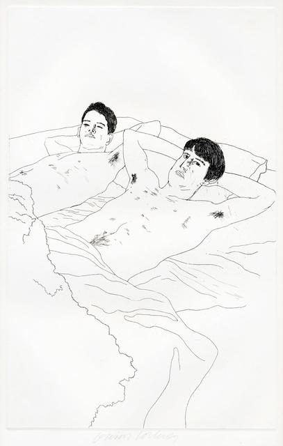 David Hockney, 'In Despair', 1966, Goldmark Gallery