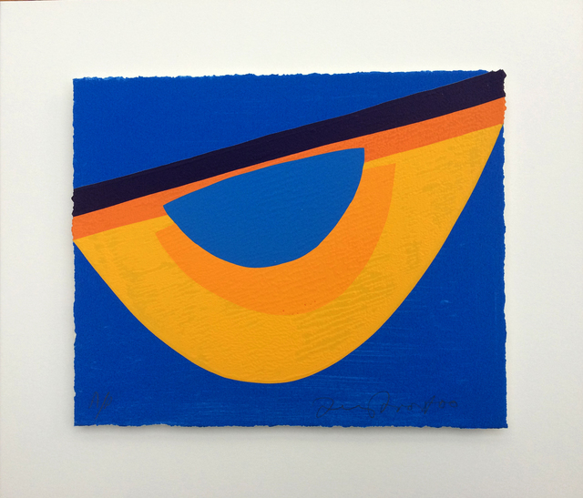 , 'Yellow and Blue for Bowjey,' 2000, Candida Stevens Gallery