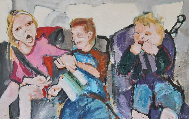 Alex Hain, 'Backseat argument', 2019, Castlegate House Gallery