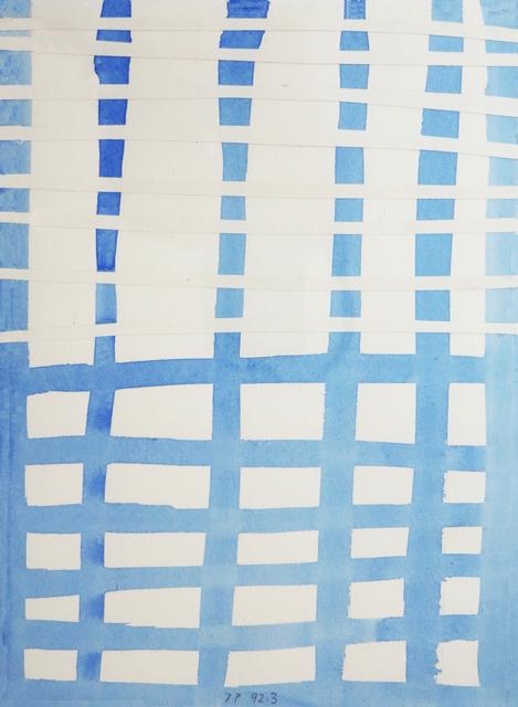 , 'Mente (Madrid),' 1992-1993, Kristof De Clercq