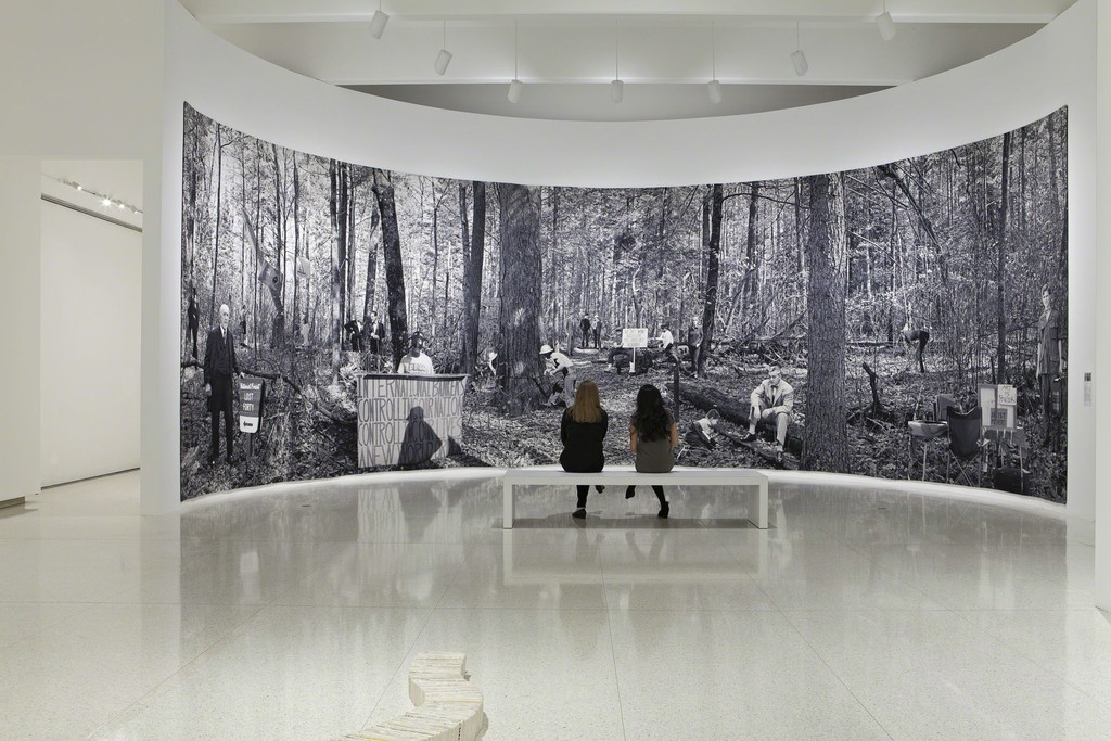 View of the exhibition Art at the Center: 75 Years of Walker Collections, 2014. Photo: ©Walker Art Center.