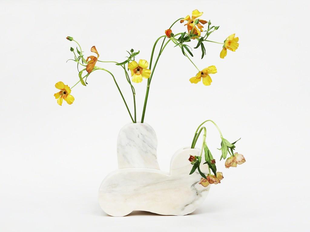 Hard Round Marble Vase
