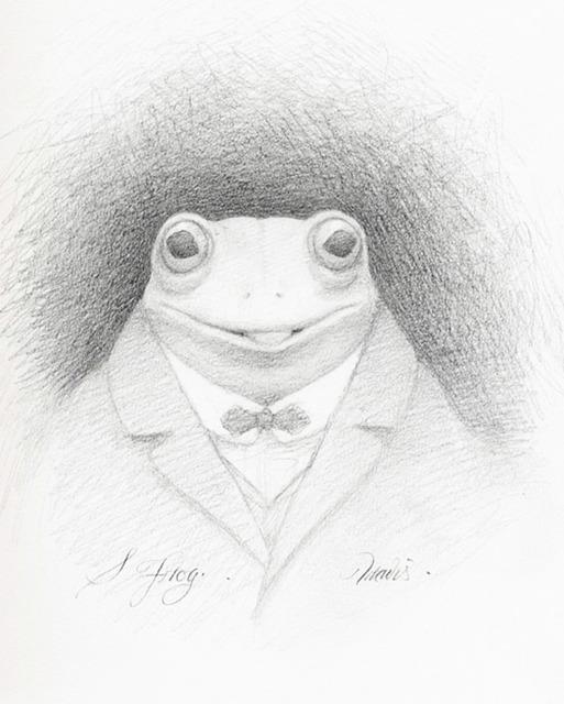 Travis Louie, 'Mr. S Frog', 2014, William Baczek Fine Arts