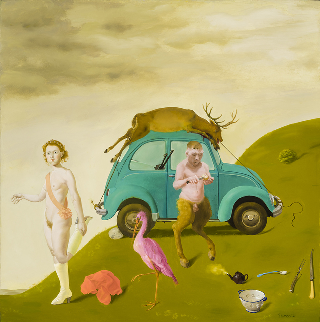 , 'Afternoon of a Satyr,' 1989, Hirschl & Adler