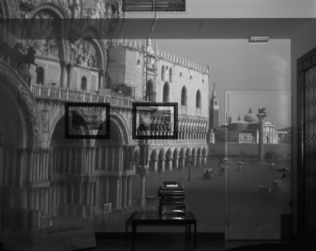 , 'Upright Camera Obscura: The Piazetta San Marco Looking Southeast in Office, Venice,' 2007, Huxley-Parlour