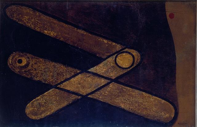 , 'Brauner Winkel (Brown angle),' 1931, Henze & Ketterer