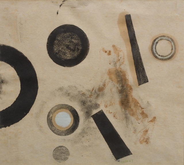 Paul Feiler, 'Orbis monotype I', 1967, Print, Monotype, Joanna Bryant & Julian Page