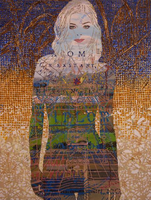 Bryan de Roo, 'Blue lines  Blue dreams Blue heights', 2018, Park Place Gallery
