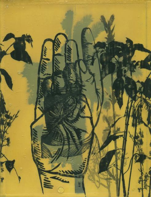Moris, '40 dedos (Proxeneta)', 2014, Mixed Media, Paint, transfer paper, contact adhesive on wood, Baró Galeria
