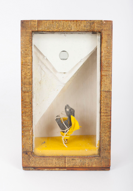 , 'Untitled (Yellow Sand Fountain),' 1959, Allan Stone Projects