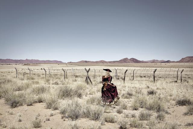 , 'The Return. En route to !Nami≠nüs/Lüderitz, Namibia,' 2012, Guns and Rain