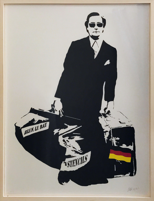 , 'The Man Who Walks Through The Walls,' 2016, Galerie Kronsbein