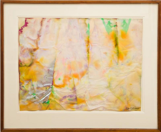 , 'Untitled Painting, Ex- Museum of Modern Art Collection, with MOMA Label (also exhibited at the American Embassy, Moscow),' 1968, Alpha 137 Gallery