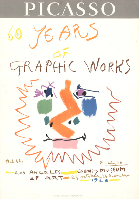 Pablo Picasso, '60 Years of Graphic Works', 1966, ArtWise