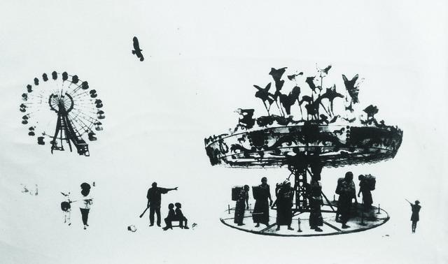 , 'Pulling Donkey,' 2014, TURF