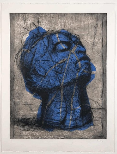 , 'Blue Head,' 1993-1998, Osborne Samuel