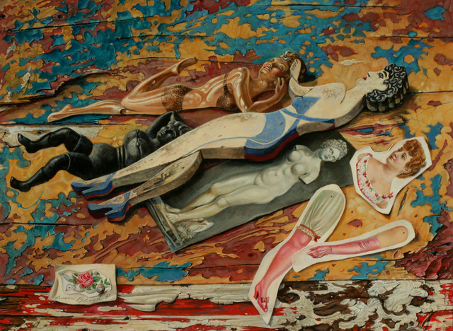Aaron Bohrod, 'The Aphrodite Theme', 1991, ACA Galleries