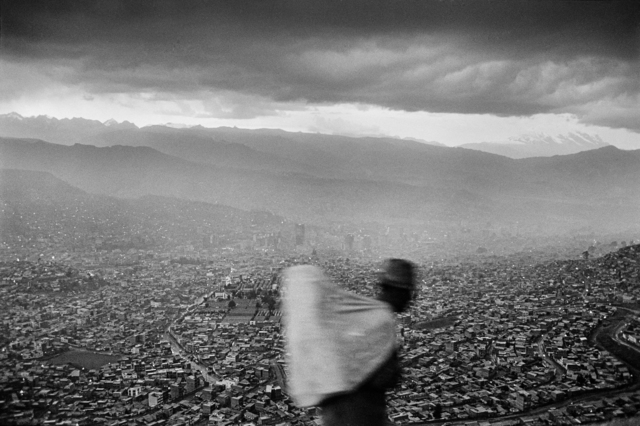Chris Steele Perkins, 'A view of the capital, La Paz, Bolivia', 1984, The Photographers' Gallery | Print Sales