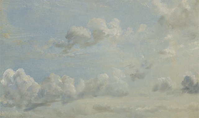 John Constable, 'Cloud Study', 1822, Yale Center for British Art