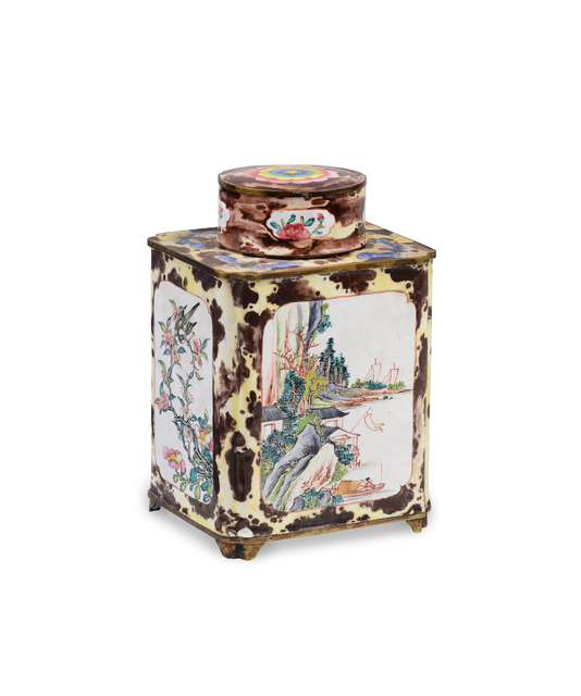 , 'Tea Canister and Cover,' 1736-1795, Jorge Welsh Works of Art