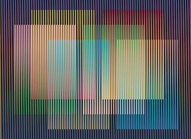 , 'Color Aditivo Panam 7,' 2010, RGR+ART