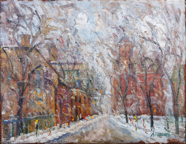 , 'Old Montreal, Snow,' 2017, Galerie d'Orsay