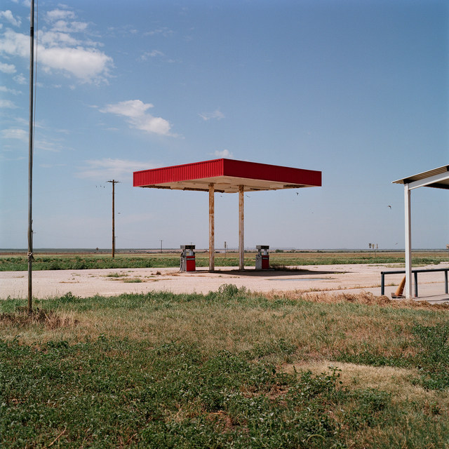 , 'Unleaded. Old Glory, Texas,' 2016, Barry Whistler Gallery