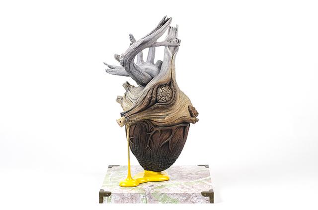 , 'Heart of Gold,' 2016, Abmeyer + Wood Fine Art