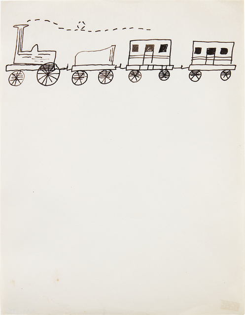 Andy Warhol, 'Untitled (Train)', ca. 1952, Phillips