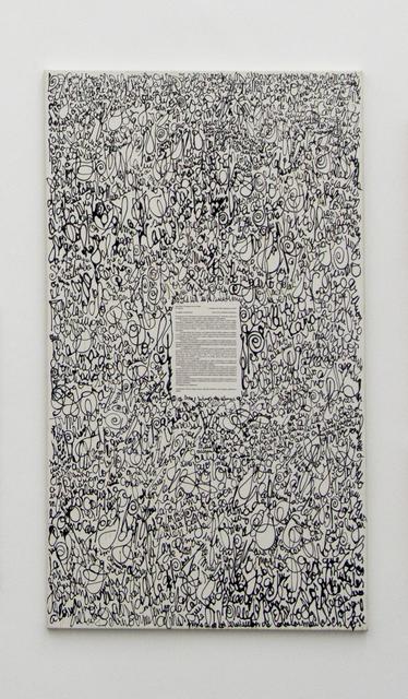 , 'Carta al Papa, por un milenio sin infiernos,' ca. 2000, Galeria Nara Roesler