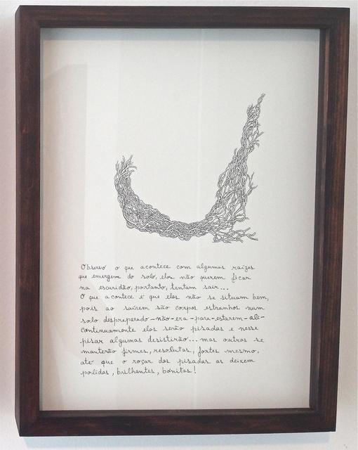 , 'Raízes,' 2013, Luciana Caravello Arte Contemporânea