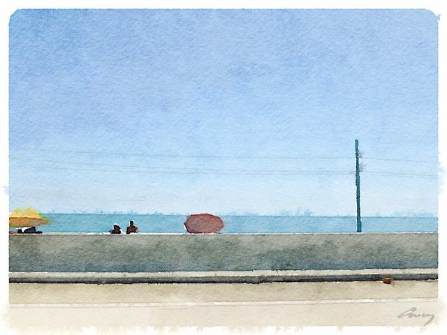Anne M Bray, 'Umbrellas, FL', 2014, TAG Gallery