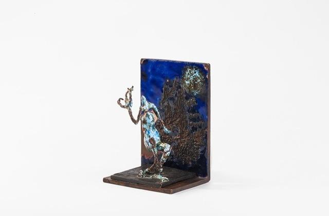 Germaine Richier, 'L'Araignée II, petite, émaillée sur équerre émaillée', 1956, Perrotin