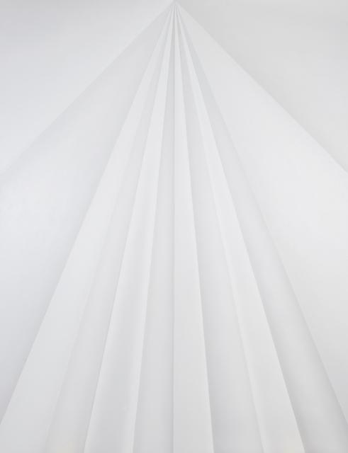 , 'Unfolded Painting (Black Eye),' 2017, Kohn Gallery