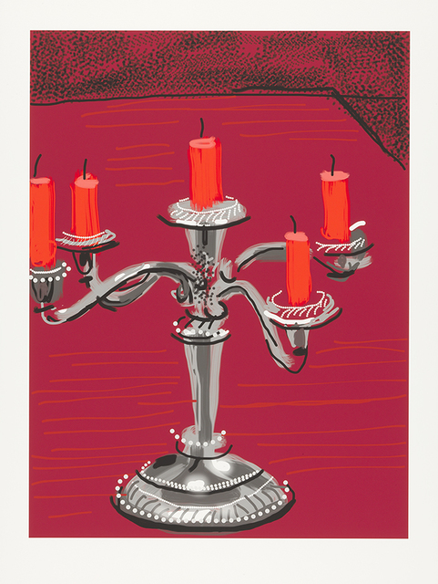 David Hockney, 'Five Candles', 2011, L.A. Louver