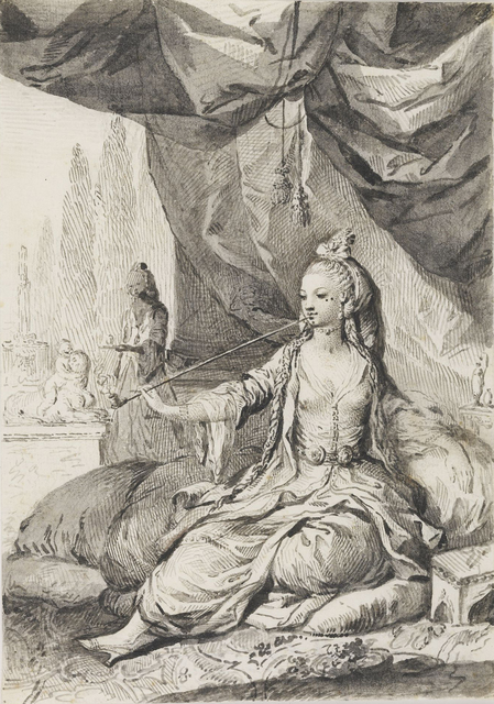 , 'An Algerian Woman,' 1771-80 , British Museum