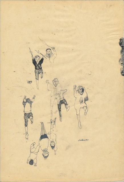 , 'Somnambulists' Prep Sketch VIII,' 2008, Cob
