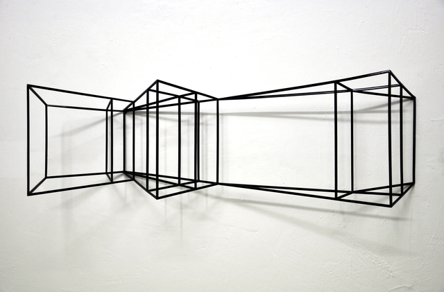 , 'Wing #1 (glossy black),' 2019, The Flat - Massimo Carasi