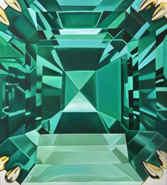 , 'Emerald III,' 2017, MAMAN Fine Art Gallery