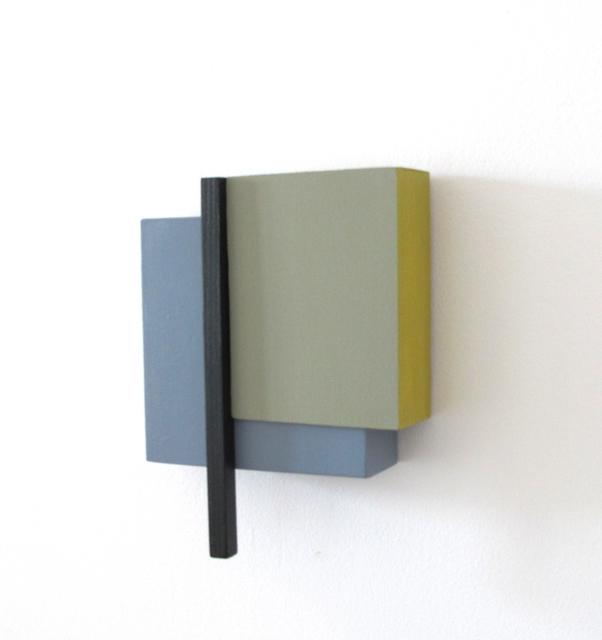 , 'Estructura 3 (Gris),' 2018, Galería La Caja Negra