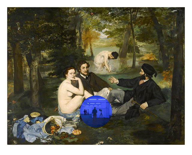 , 'Gazing Ball (Manet Luncheon on the Grass),' 2019, Two Palms