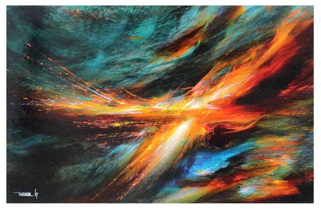 Leonardo Nierman, 'Firebird', 1967, Modern Artifact