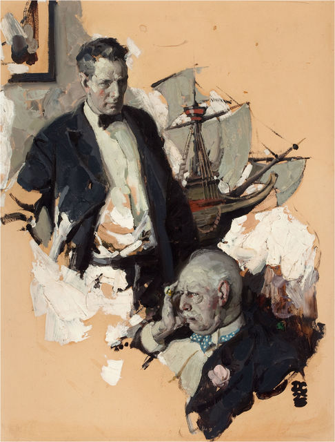 Dean Cornwell, 'Woe is Me', The Illustrated Gallery