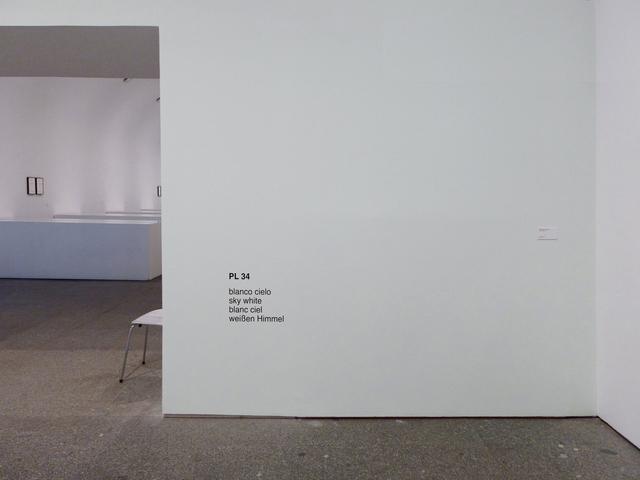 , 'Diez blancos (blanco cielo),' 2015, Estrany - De La Mota