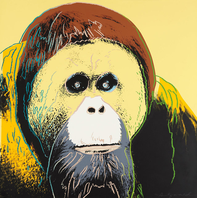 Andy Warhol, 'Orangutan (FS II.299)', 1983, Print, Screenprint on Lenox Museum Board, Revolver Gallery