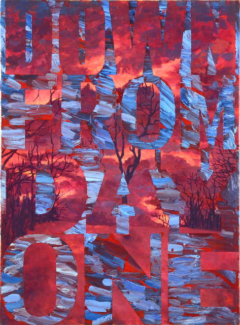 , 'Down From Day One, Red,' 2015, FRED.GIAMPIETRO Gallery