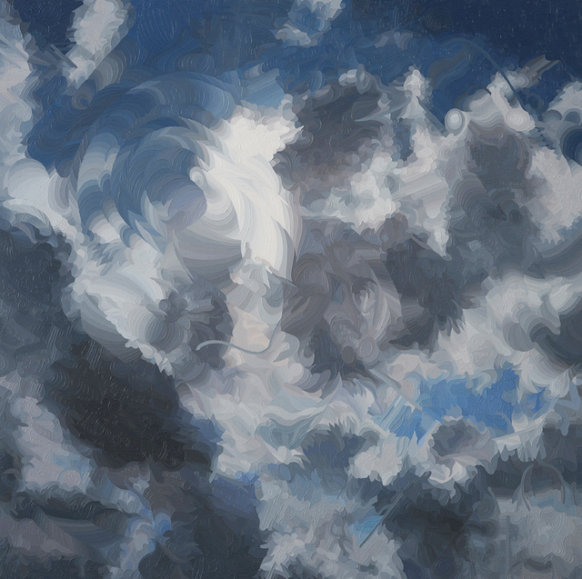 , 'China Clouds,' 2017, Lois Lambert Gallery