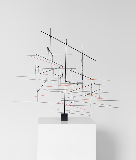 , 'Linie 16:38,' 2016, Galerie Denise René